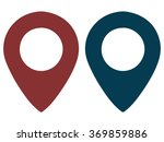 map markers  vector...