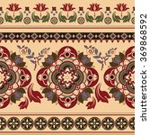 floral paisley pattern.... | Shutterstock . vector #369868592