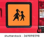 school bus sign  official... | Shutterstock . vector #369898598