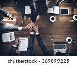 Stock photo business people teamwork collaboration relation concept 369899225