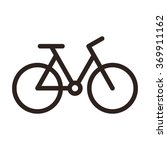bicycle icon. bike symbol... | Shutterstock .eps vector #369911162