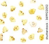 popcorn falling on white... | Shutterstock .eps vector #369922052