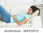 side view of woman suffering... | Shutterstock . vector #369923972