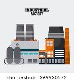 industry icon design  | Shutterstock .eps vector #369930572