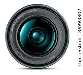 camera lens   Shutterstock .eps vector #36993802