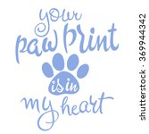 vector illustration of love pet ...   Shutterstock .eps vector #369944342