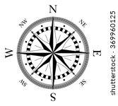 compass navigation dial  ... | Shutterstock .eps vector #369960125