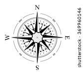 compass navigation dial  ... | Shutterstock .eps vector #369960146
