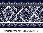 geometric ethnic pattern design ... | Shutterstock .eps vector #369960812