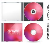 cd packaging template   vector...   Shutterstock .eps vector #369972482