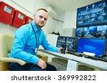 video monitoring surveillance... | Shutterstock . vector #369992822