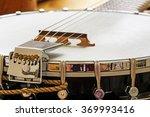 metallic banjo with 6 strings ...