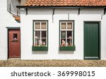 A Typical Dutch House With A...