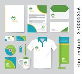 vector brochure  flyer ... | Shutterstock .eps vector #370005356