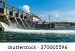 hydro power plant. | Shutterstock . vector #370005596