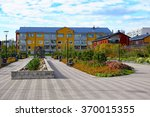 Residential district with new housing by architect Tuomas Siitonen in Porvoo, Finland