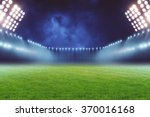 football ground | Shutterstock . vector #370016168