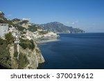 amalfi coast  | Shutterstock . vector #370019612