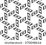 vector modern seamless geometry ... | Shutterstock .eps vector #370048616