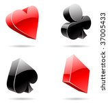 vector eps illustration of 3d... | Shutterstock .eps vector #37005433