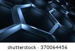 abstract 3d rendering... | Shutterstock . vector #370064456