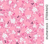 vector floral seamless pattern... | Shutterstock .eps vector #370064642