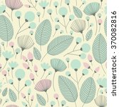 elegant seamless pattern with... | Shutterstock .eps vector #370082816