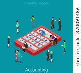 accounting and finance... | Shutterstock .eps vector #370091486