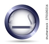 cigarette icon. internet button ... | Shutterstock . vector #370100216