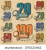 anniversary sign collection and ...
