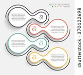 vector colorful info graphics... | Shutterstock .eps vector #370122698