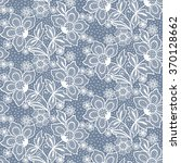 seamless  lace  floral  ... | Shutterstock .eps vector #370128662