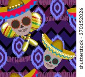 seamless background on mexico... | Shutterstock .eps vector #370152026