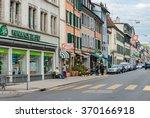 rolle   switzerland   sep 29 ... | Shutterstock . vector #370166918