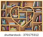 Education Concept. Bookshelf...