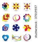 set of elements for design | Shutterstock .eps vector #37019557