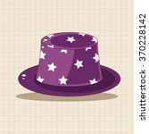 birthday hat theme elements   Shutterstock .eps vector #370228142