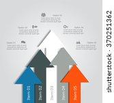 banner infographic design... | Shutterstock .eps vector #370251362