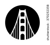 bridge logo vector. | Shutterstock .eps vector #370252358