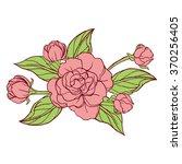 flower | Shutterstock .eps vector #370256405