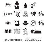set of zika virus icon in...   Shutterstock .eps vector #370257122