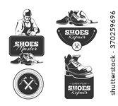vector vintage labels set of...