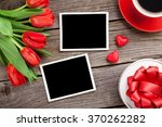 Red Tulips  Gift Box And...
