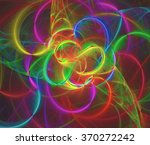 abstract fractal background | Shutterstock . vector #370272242