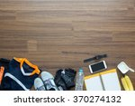sport clothes and accessories... | Shutterstock . vector #370274132