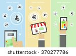 flat vector conceptual... | Shutterstock .eps vector #370277786