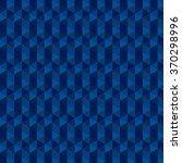 blue geometry background vector | Shutterstock .eps vector #370298996