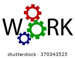 illustration for work  | Shutterstock .eps vector #370343525
