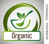 organic food graphic | Shutterstock .eps vector #370354412