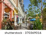 scenery of the shopping street... | Shutterstock . vector #370369016